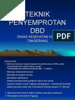 Tehnik Penyemprotan Dbd
