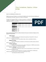 Ejercicio Excel Para Contadores