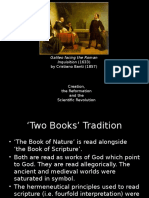 Creation, Reformation and the Rise of Natural Science