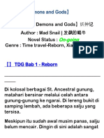 Tales of Demons and Gods Bab 01 - 10