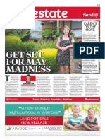"""Get Set For May Madness"" - Herald Sun - 27 March, 2016"