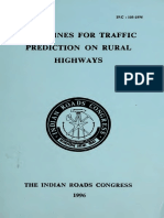 IRC 108 - Guidelines Traffic Prediction on Rural Highways 1996.pdf