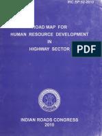 IRC Human Res Dev in Highways Sector 2010