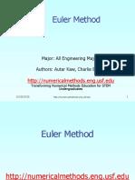 Ode Ppt Euler