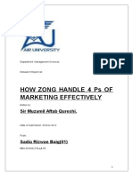 115277600 Zong Marketing Report (1)