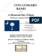 Free Memorial Day concert in Columbia