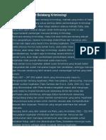 Sejarah dan Latar Belakang Kriminologi.docx