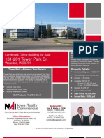 Available Large Call Center Office Space - Tower Park, Waterloo, IA