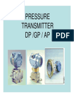 11.1 Pressure Transmitter
