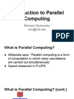 Parallel computing engineering