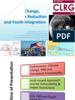 """Climate Change, Disaster Risk Reduction and Youth Integration"""