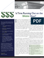 Is Time Running Out on the Billable Hour