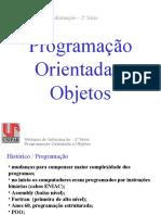 Programação Orientada a Objetos - Slides