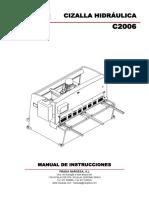 Manual Instrucciones c2006 1