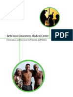 Beth Isreal Deaconess Center Visitor's Guide