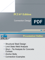 PCI 6th Edition - Connection Design