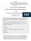 United States v. Franklin C. Broadwell, 25 F.3d 1041, 4th Cir. (1994)