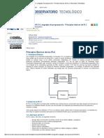 MONOGRAFICO_ Lenguajes de Programación - Principios Básicos de PLC _ Observatorio Tecnológico I