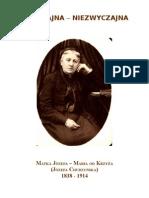 biogram Józefy Chudzyńskiej