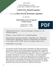J.D. Hamilton v. 1st Source Bank, 928 F.2d 86, 4th Cir. (1990)