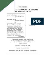 Footland v. Daley, Sec, 4th Cir. (2000)