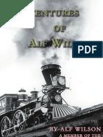 Adventures of Alf Wilson Sample