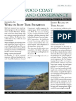 Fall-Winter 2005 Redwood Coast Land Conservancy Newsletter