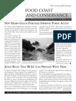 Spring-Summer 2005 Redwood Coast Land Conservancy Newsletter