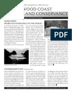 Spring-Summer 2002 Redwood Coast Land Conservancy Newsletter