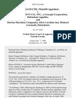 Scott Malouche v. Jh Management Co., Inc., a Georgia Corporation, and Durban Haralson Companies, D/B/A Carolina Inn Richard Arsenault, 839 F.2d 1024, 4th Cir. (1988)