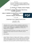 John B. Walpole, Theodora W. Walpole, John B. Walpole, Jr. And William E. Walpole, D/B/A Sunny Point Farms v. Great American Insurance Companies American National Fire Insurance Company, 56 F.3d 63, 4th Cir. (1995)