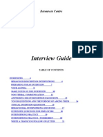 Interview Guide En