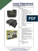 (CHR-Sasdasd030-LYE) Solar Charger Controller