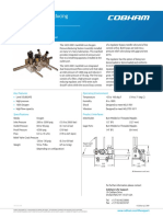 Oxygen Pressure Reducing Station Assembly