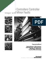 Logix5000 Controllers Major and Minor Faults Programming Manual
