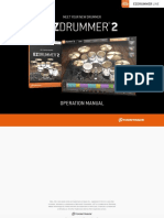 EZdrummer Operation Manual