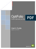 Optifolio UsersGuide En