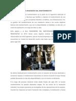 Articulo #1- La Ingenieria Del Mantenimiento