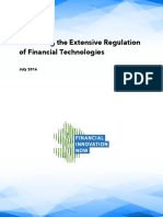 Examining the Extensive Regulation of Financial Technologies