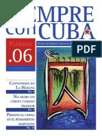 Nº 6 Revista Siempre Con Cuba