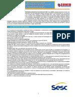 SESC PA Edital2016