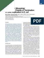 Molecular Mousetrap