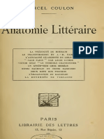 Coulon, Marcel - ANATOMIE LITTERAIRE La Precocité de Rimbaud
