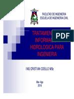Tratamiento de Informacion Hidrologica Final