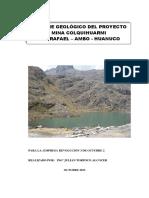GEOLOGIA y Evaluacion de La Mina Colquihuarmi