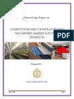 Current Scenario of Textile Machinery