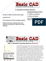 UNIT 5 Coordinate Systems