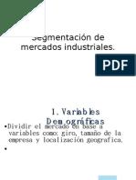 Segmentación de mercados industriales