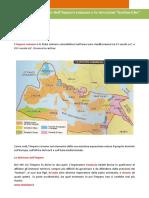 La Divisione Dell Impero Romano e Le Invasioni Barbariche