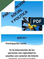 participacion social y politica